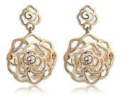 9K Rose Gold Earrings