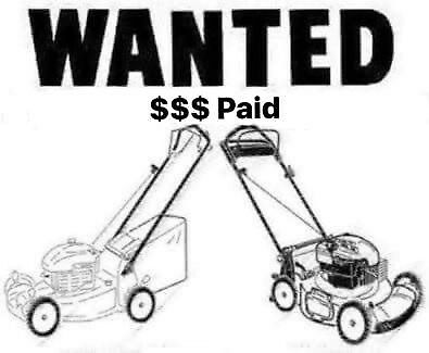 MOWERS WANTED