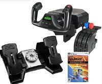 Saitek Pro Flight Yoke with Rudder Pedals + FSX Gold Edition
