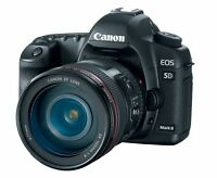 CANON EOS 5D MARK II WITH 24-105MM LENS - REDUCED PRICE - $2000!