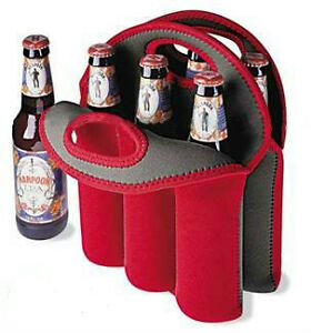Insulated 6-Pack Beverage Holders