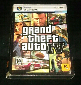 Grand theft auto IV ( 4 ) for PC computer