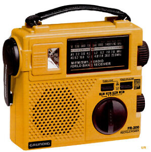 EMERGENCY RADIO / GRUNDIG FR200G