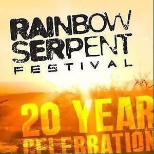 Rainbow Serpent ticket x1 Coburg Moreland Area Preview