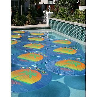 Solar Sun Rings Palm Tree Pattern Solar Pool Heating Cover — 6 Pack