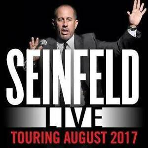 JERRY SEINFELD TICKETS FOR SALE - MELBOURNE Ascot Vale Moonee Valley Preview