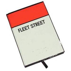 Fleet street Maccas sticker-unclaimed Sydney City Inner Sydney Preview