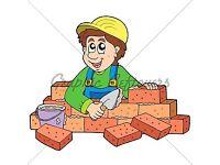 Bricklaying/flagging and blockpaving work