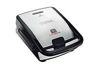 Tefal Snack Collection Sandwich Maker - Stainless Steel