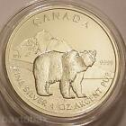 Silver Grizzly Coin