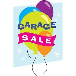 Garage Sale Sunday 10-5pm Rain or Shine Francis St & 15 Ave