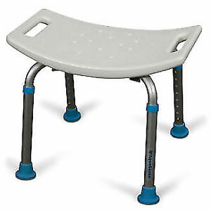 BATH STOOL / CHAIR, TRANSFER OR SHOWER BENCH, COMMODE, TUB RAIL.