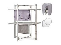 Drysoon heated drying rack and accessories