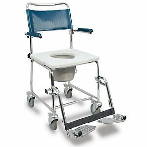 #6 BRAND NEW EURO Shower COMMODE TOILET SENIOR PORTABLE POTTY