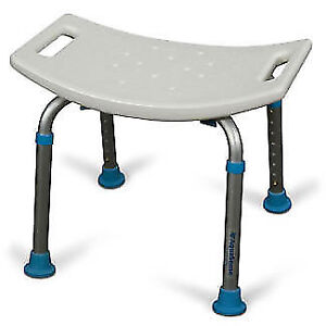 BATH STOOL / CHAIR, TRANSFER OR SHOWER BENCH, COMMODE, TUB RAIL