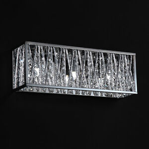 Gorgeous Z-Lite 872CH-3V Terra 3-Light Bathroom Light