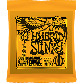 Ernie Ball 2222 Nickel Hybrid Slinky Electric Guitar Strings