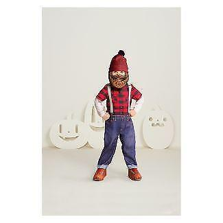 Toddler Lumberjack Jumpsuit with Beard Hat Hyde and Eek 4-5T Halloween Costume](Lumberjack Woman Costume)