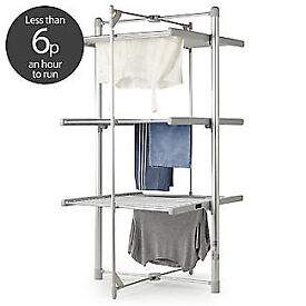 Lakeland Dry Soon 3 Tier Electric Clothes Rail Drier Heater - Perfect as new