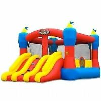 LARGE BOUNCE HOUSE WITH DOUBLE SLIDE $260/DAY