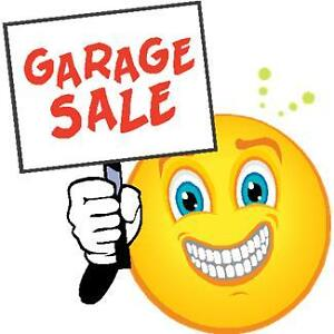 HUGE INDOOR GARAGE SALE