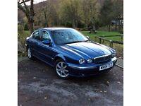 Jaguar X Type, great condition. MOT, clean all round.