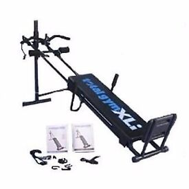Total Gym Xli Fitness Equipment Helps Increase Muscle strength, Weight loss, Exercising Machine