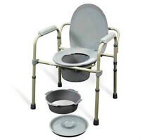 """STANDARD FOLDING COMMODE -""""BRAND NEW IN BOX"""" - Great Buy$$$"""