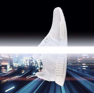 Adidas NMD R1 Monochrome Triple White, Size: US 10