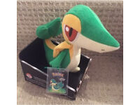 Pokemon - Snivy Plush Toy/ Collectible (TOMY) - Brand New