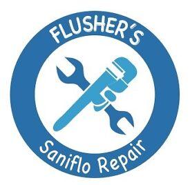 Saniflo Repair. Saniflo Plumber. Saniflo Installation. Blocked Saniflo. Saniflo Service.Macerator.