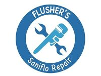 Saniflo Repairs Newcastle. Macerator repairs Newcastle. Grundfos. Turbo flush. Saniflo Blocked.