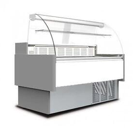 Coldkit Araya Flat Glass Serve Over Counter Refrigerator Slightly Used