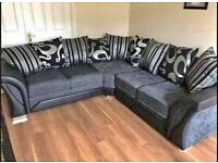 BRAND NEW SHANNON CORNER SOFAS AVAILABLE IN 3+2 SOFA SET (NEXT DAY DELIVERY)