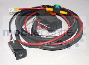 land rover defender heated windscreen wiring kit with. Black Bedroom Furniture Sets. Home Design Ideas