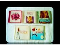MUSIC CDS - WOMENS COMPILATION - (9 discs) - FOR SALE