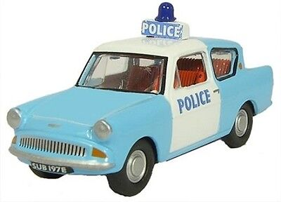 Ford Anglia Police Panda Oxford Die-cast OO  76105003 Automobile UK 1:76
