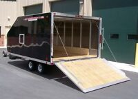 Looking for 12 ft enclosed snowmobile trailer