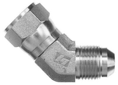 6502-06-06 Hydraulic Fitting 38 Female Jic 45 Swivel X 38 Male Jic C5356