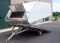 Wanted clamshell / hybrid / crossover / enclosed trailer