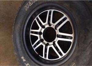 Dodge Ram 2500 Rims & Winter Tires Hankook ATM Dynapro