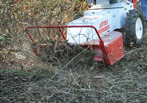Little Wonder Brush Cutter Bush hog Clearing Mower Rental Kitchener / Waterloo Kitchener Area image 3