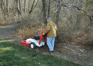 Little Wonder Brush Cutter Bush hog Clearing Mower Rental Kitchener / Waterloo Kitchener Area image 2