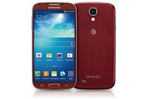 Red Samsung S4, Unlocked, no contract *BUY SECURE*