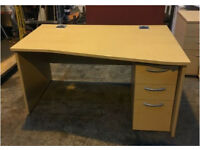 Office Desks For Sale - Many Styles - Prices Vary - Straight, Corner, Wave / 120cm, 160cm, 180cm