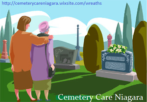 Cemetery Care Niagara.Loved Ones Remembered.Flower Service
