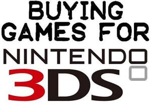 Buying Your Games for 3DS