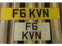 F6 KVN Private Registration Number