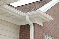 Gutter, Fascia, Soffit - Roof Installation, Repair & Eavestrough