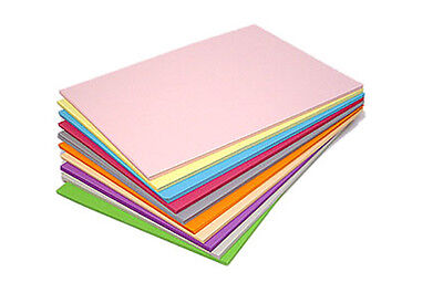 A4 Coloured Paper 80gsm Craft Paper Packs Printer / Copier Paper or 160gsm Card
